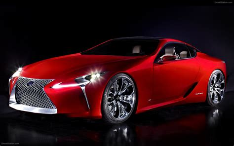 Lexus Lf Lc Sports Coupe Concept 2018 Widescreen Exotic