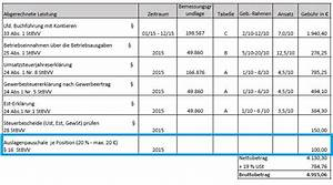 Fahrtkosten Berechnen : so berpr fen sie ihre steuerberaterkosten blog ~ Themetempest.com Abrechnung