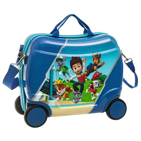 briefcase on wheels paw patrol cabin suitcase travel cases