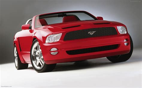 Ford Mustang Concept by Ford Mustang Gt Concept 2004 Car Pictures 30 Of