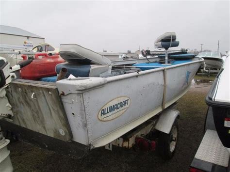 Used Alumacraft Boats by Used Alumacraft Boats For Sale In Wisconsin United States