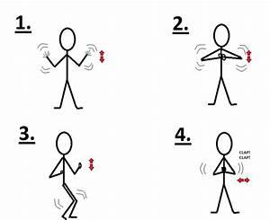Chicken Dance Instructions
