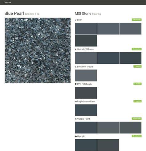 paint colors with blue pearl granite blue pearl granite tile flooring msi behr sherwin williams benjamin ppg