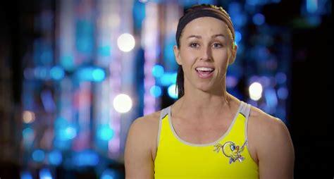 Former Arkansas Pole Vaulter Competes American Ninja