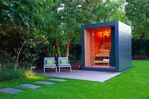 Sauna Für Garten : sauna im garten von gartenhauptdarsteller homify ~ Buech-reservation.com Haus und Dekorationen
