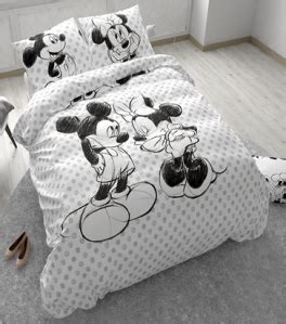 housse couette 240x200 cm minnie mouse disney