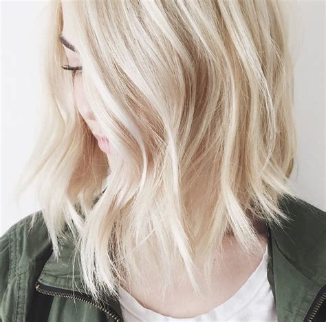 blonde bob girl hair hairstyle image