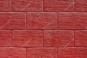 Red stone wall texture or background — Stock Photo ...