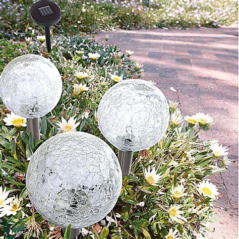 spielgeräte für den garten solarleuchte mit 3 glaskugeln jetzt bei weltbild at bestellen