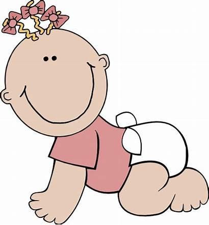 Clip Clipart Vector Cartoon Babies Shower Graphics