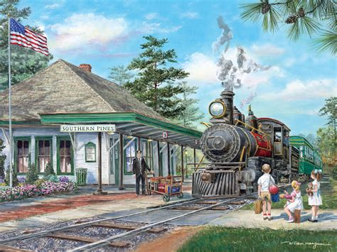 southern pines station puzzle jigsaw puzzles