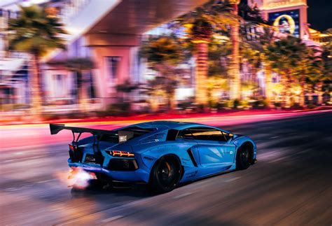 Gtr Shooting Flames Wallpaper by Blue Liberty Walk Aventador Shooting Flames In Motion