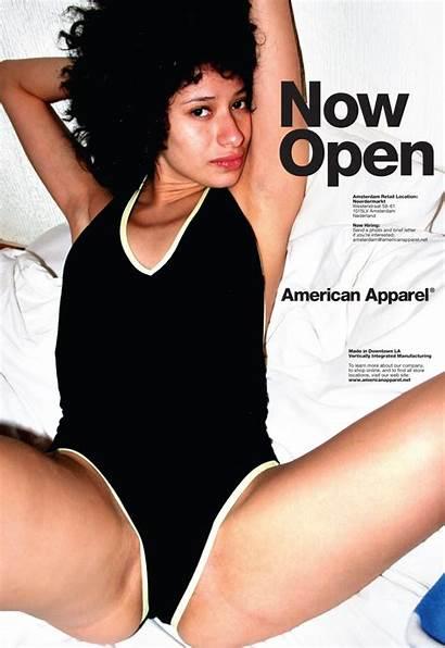 American Apparel Legs Frockwriter Even Open Company
