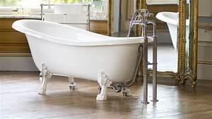 Baignoire Patte De Lion : une salle de bains r tro ~ Melissatoandfro.com Idées de Décoration