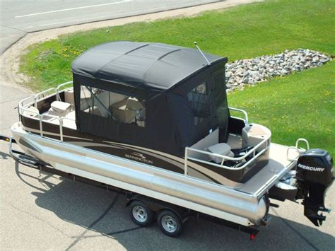 Boat Canvas Enclosure Price by 17 Best Ideas About Pontoon Boat Covers On
