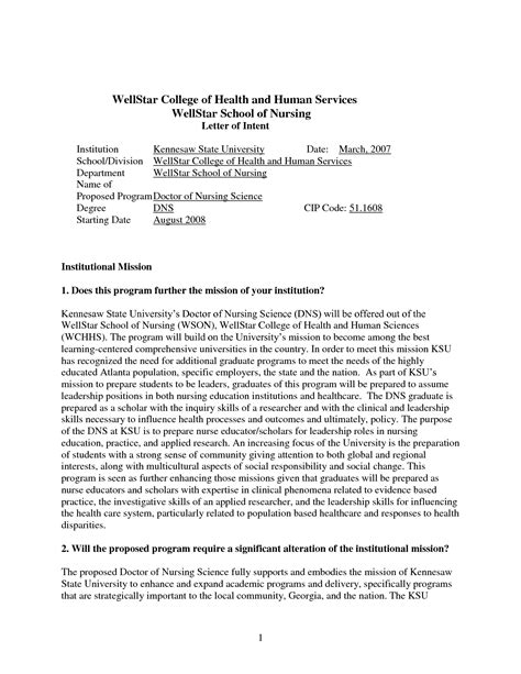 letter of intent graduate school letter of intent sle for graduate school admission 29607