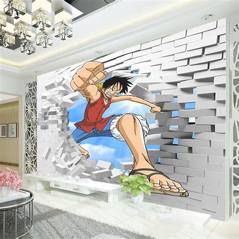 piece luffy wallpaper custom  wall murals japanese