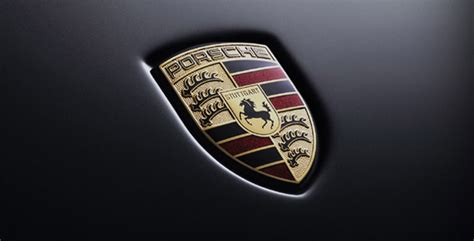 lhistoire des emblemes de lautomobile porsche