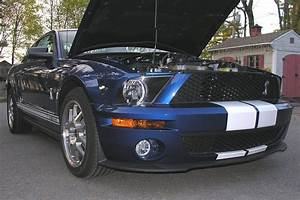 Stock 2008 Ford Mustang Shelby-GT500 1/4 mile Drag Racing timeslip specs 0-60 - DragTimes.com