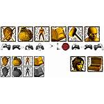 Icon Icons Gesture Souls Dark Menu Mods