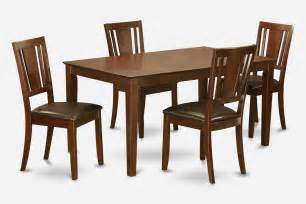 5 piece dining room set for 4 set dining table and 4
