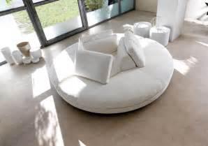 canapé rond design canapé demi lune et canapé rond 55 designs spectaculaires