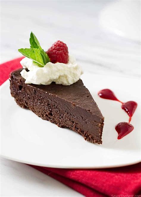 flourless chocolate cake savor