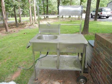 outdoor grill with sink best outdoor kitchen sink drain idea bistrodre porch and