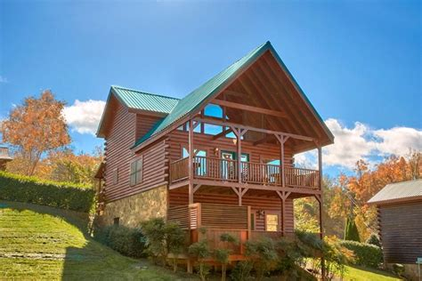 country cabins plans vacation rental near gatlinburg with pool access