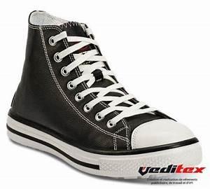 Basket De Sécurité Homme : chaussure de s curit haute en cuir type converse s3 src ~ Melissatoandfro.com Idées de Décoration
