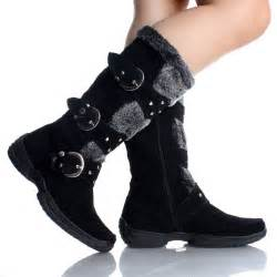 Cute Black Winter Boots for Women