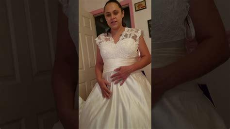 jjshouse wedding dress review youtube
