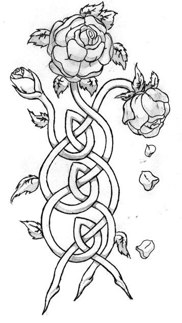 Celtic Knot by novedepaus @ deviantART For Manor house | drawings | Celtic knot tattoo, Celtic