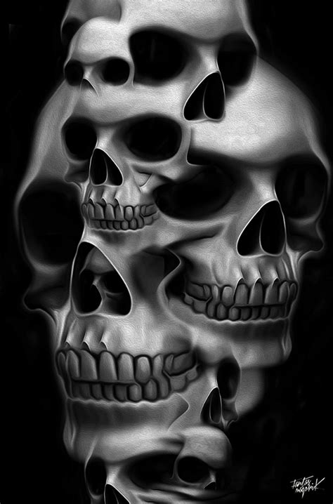 FANTASMAGORIK® COMPILATION SKULL on Behance