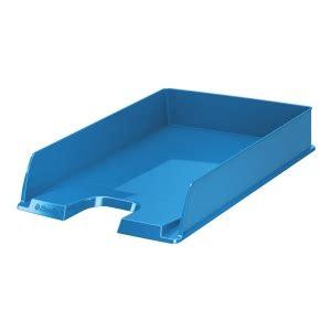 banette de rangement bureau corbeille à courrier esselte vivida a4 bleu corbeille