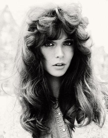 women s 1970s hairstyles were quite varied from long to