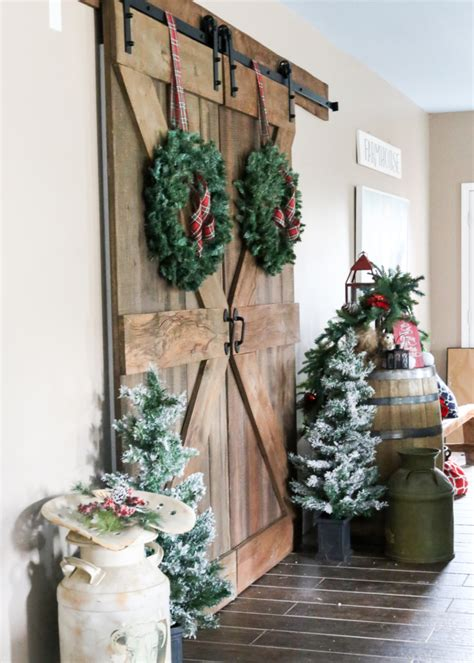 finding farmhouse christmas decor styling tips