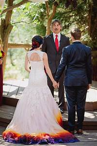 trubridal wedding blog this airbrushed wedding dress is With airbrushed wedding dress