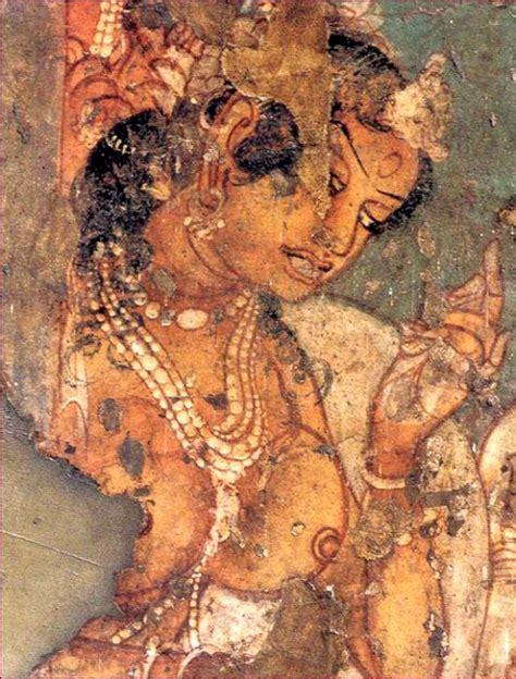 indian heritage ajanta caves portrayal  women