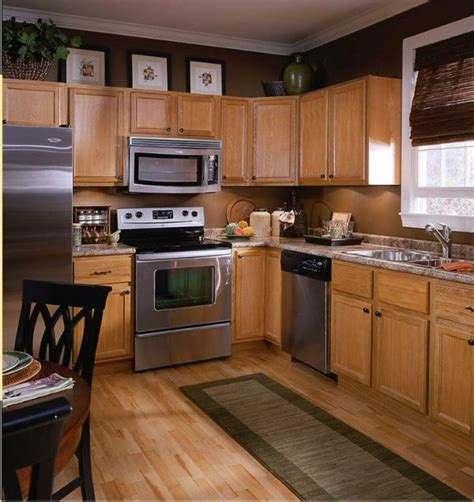 Kitchen Colors With Light Brown Cabinets  Euffslemanicom