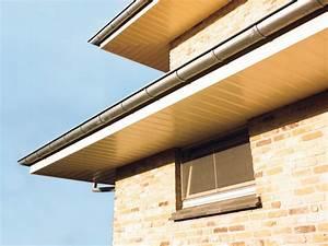 Dachüberstand Verkleiden Material : dach berstand verkleiden mit hohlkammerprofilen aus pvc von inoutic inoutic ~ Orissabook.com Haus und Dekorationen