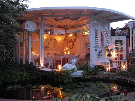 Sichtschutz Garten Landhausstil by Shabby Landhaus Garden