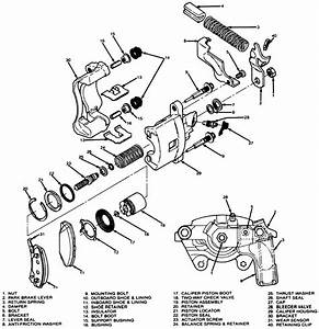 Cadillac Rear Caliper Adjustment