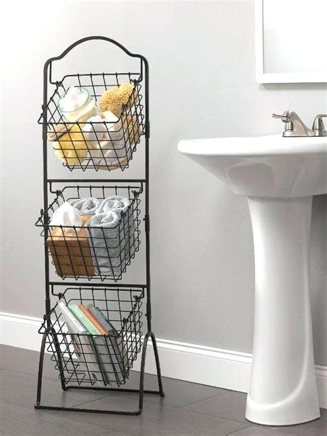bathroom wire baskets spiritmeetsbone
