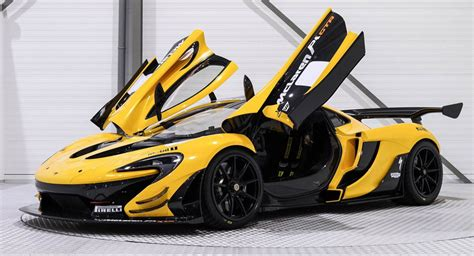 mclaren lm5 yellow and black mclaren p1 gtr is a 3 3 million track toy