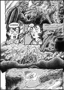 Godzilla vs. Gamera - Page 3 by kaijukid on DeviantArt