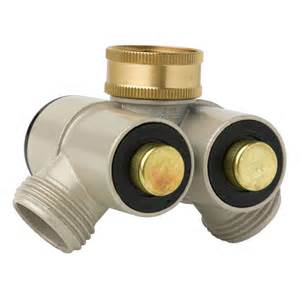 Push Button Outside Faucet Adapter