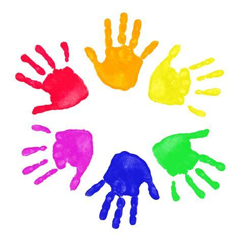 kids handprint clipart clipart panda  clipart images
