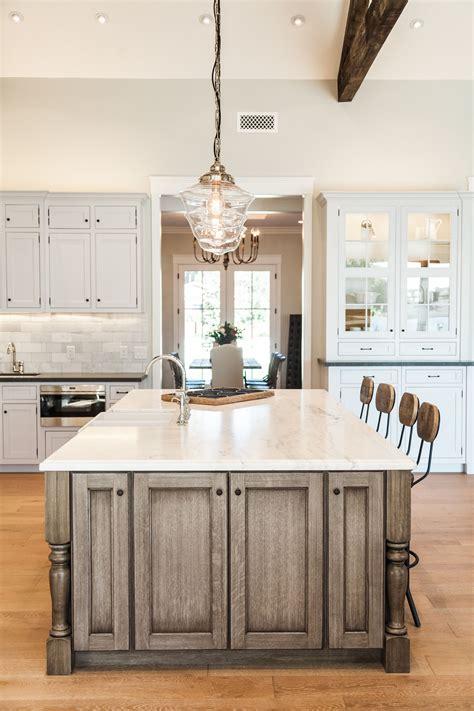 oversized kitchen island  rafterhouse dream