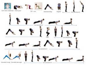 Vinyasa Yoga Poses Sequence